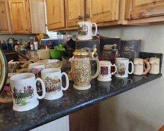 Beer Steins - Nautical Mugs
