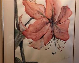 Pair of Original watercolors by an Atlanta artist