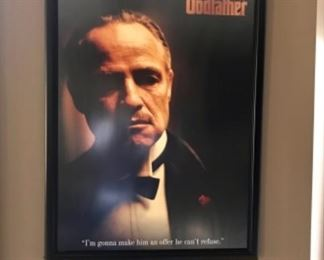 Classic Godfather poster