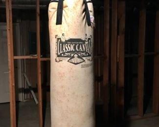 Century classic canvas boxing bag