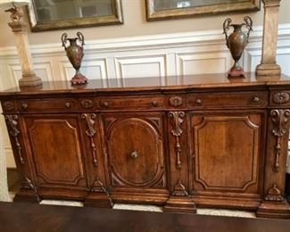 Distinctive one of a-kind buffet