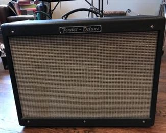 "Fender ""hot rod"" amplifier"