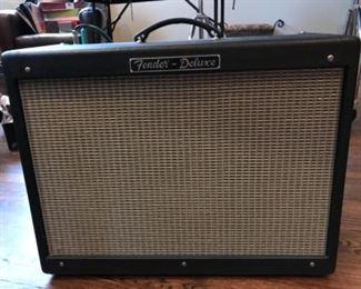 "Fender ""hot rod"" amplifier"