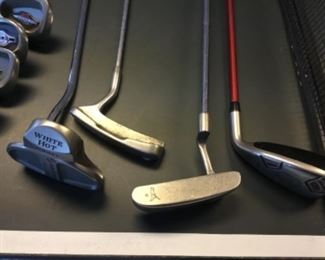 Ping putter, Ping hybrid, Odyssey white hot
