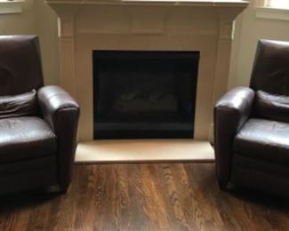 Pair of BarcaLounger chairs