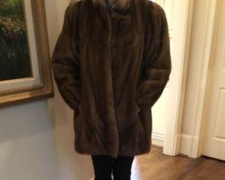 Beautiful mink jacket