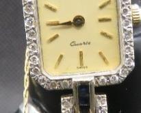 Gold, Diamond, Sapphire Watch