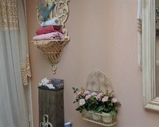decorative items galore in every room