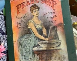 Pear's Soap Vintage Artwork