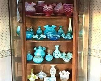 Collection of Fenton Glass