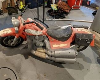 Harley Power Wheels, Needs Work. Electric Car, Needs Put Together