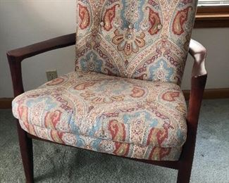 D-2, Contemporary MCM McNabb and Risley chair, very solid, 3 years old, $540.00