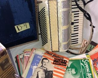 D-4, Princetti Accordion with all the fixings, $325