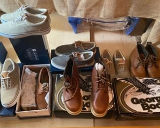 Brand new shoes and boots men's size 10