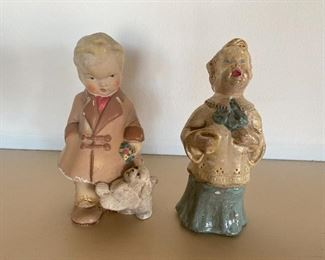 More chalkware pieces