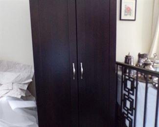 storage cabinet, black