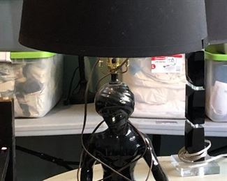 https://www.ebay.com/itm/114631324041WRB4001: Mid Century Black Lamp. India Boy Pickup Only Buy-it-Now  $99.00