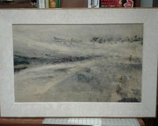 "WRG8082 	https://www.ebay.com/itm/124540511748	WRG8082 ""Salient"" Charles H. Reinke 1961 watercolor on rag paper on board Local 	Fixed	200"