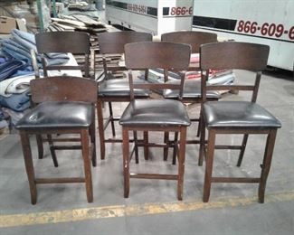 https://www.ebay.com/itm/114649988862	LY8075 Deep Walnut Finish 6 Tall Barstools  Local Pickup		 Buy-it-Now 	 $99.99