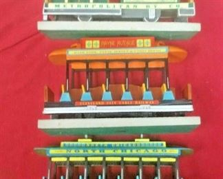 https://www.ebay.com/itm/114658338292GN3182 LOT OF THREE USED VINTAGE LEFTON CERAMIC TROLLY CARS FIGURINES Buy-it-Now  $19.99