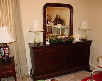 Broyhill dresser and mirror