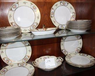 Nippon dinnerware set