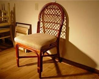 10. MCM Rattan Chair Stoneville Furniture Company