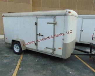 6 2003 Doolittle 6 x 12 SA enclosed trailer