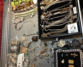 Gold and silver Jewelry, US Coins
