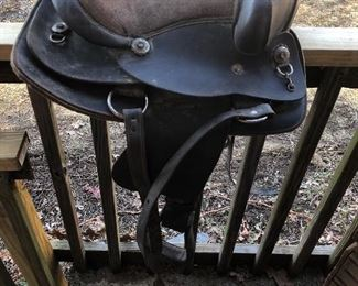 Child's western saddle
