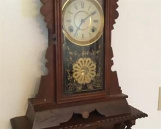 Clock and Clock Shelf