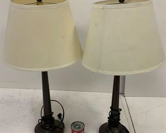 2 brow lamps