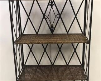folding bakers rack