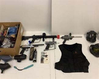 paintball guns supplies ammo