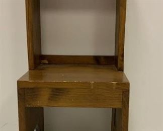 wood step stool