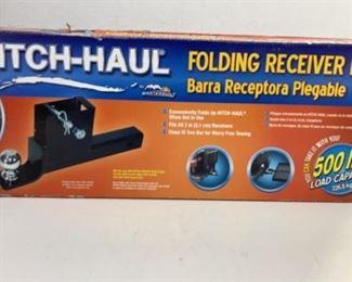 folding receiver bar