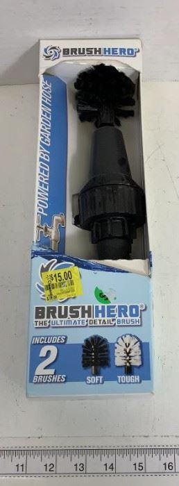 garden hose brush head