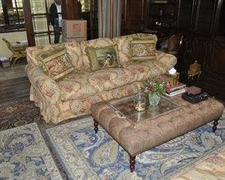 A107  Ralph Lauren sofa  Length:  8 foot