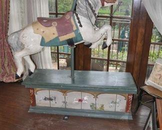 A116   Antique Carousel horse  $3850