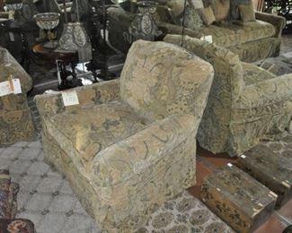 E103 upholstered chair $325