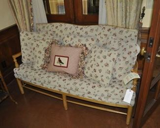 C102  upholstered settee  Length:  5'   $425