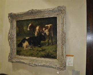 B129  Original oil on canvas by William Barr   $1500