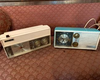Vintage Pink & Turquoise Radios