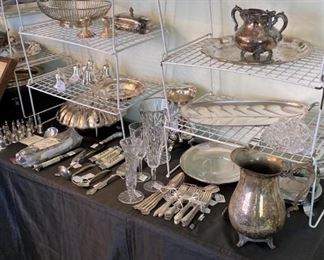 Other sterling and silver plate selections