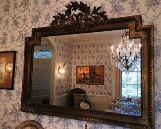 fabulous antique French mirror