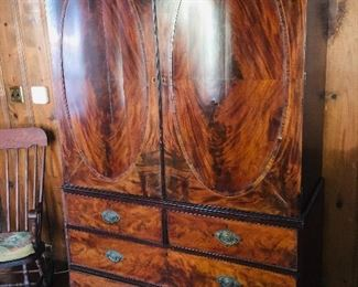 glorious Antique  men's wardrobe