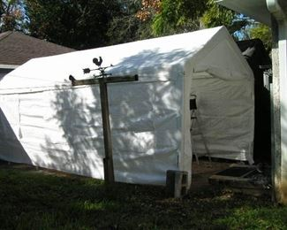10 x 20 canopy white