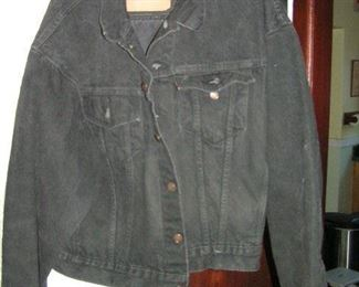 LEVY denim size L made in USA