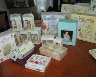 Beatrix Potter items