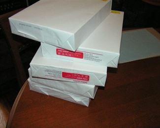 white copy paper